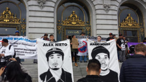 Black-Brown-Unity-to-End-Police-Impunity-rally-City-Hall-031816-300x169, Black and Brown unity against police impunity, Local News & Views