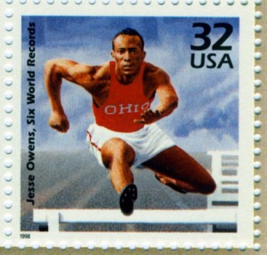 Jesse Owens stamp