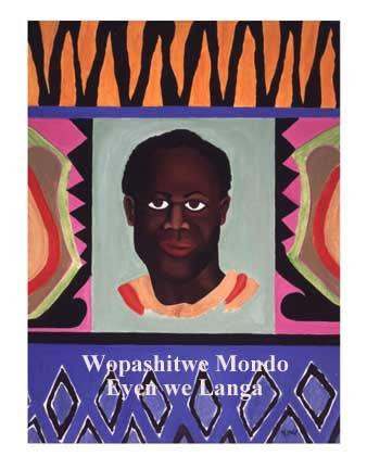 Kwame-Nkrumah-art-by-Mondo-we-Langa, Wopashitwe Mondo Eyen we Langa: A caged bird free at last, Behind Enemy Lines