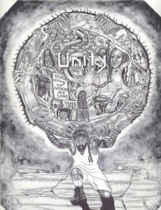 """""""Unity Is the Key"""" – Art: G. Lumumba Edwards"""