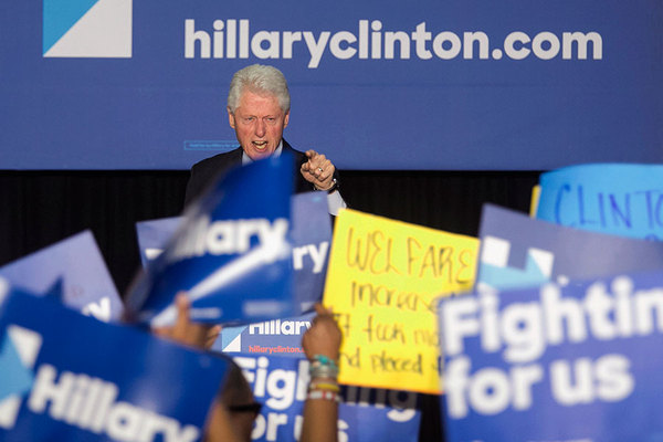 Bill-Clinton-lectures-Black-Lives-Matter-protesters-at-Hillary-rally-Philly-040716-by-Ed-Hille-Philadelphia-Inquirer-AP, Michelle Alexander: Bill Clinton's rant was a tutorial on all that's wrong with the 'New Democrats', National News & Views