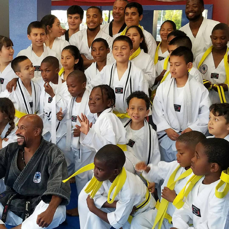 Master-Frohm's-students-who-passed-white-belt-white-advance-yellow-belt-test-by-PNN, Displacement on BlackArthur, East Oakland, one business, one family, one elder at a time, Local News & Views