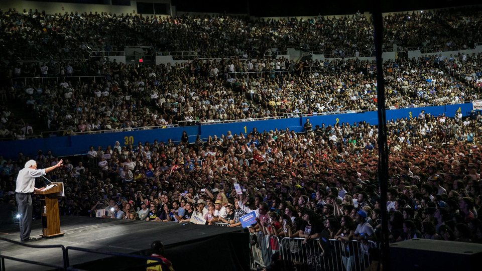 Bernie-Sanders-speaks-LA-0815-by-Marcus-Yam-LA-Times-1, Bay View Voters Guide: Cali can make Bernie president if we vote our hopes, not our fears, National News & Views