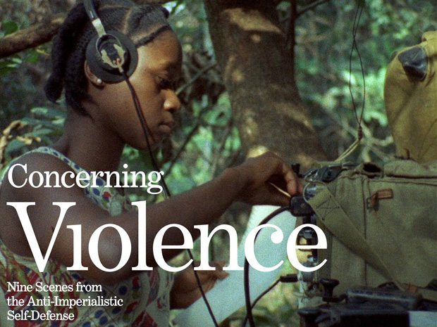 'Concerning Violence' film graphic