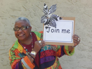 Faye Kennedy, director of the Sacramento Black Book Fair, wants YOU!
