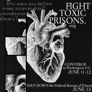 Fight Toxic Prisons Convergence poster