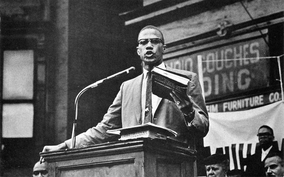 "This is Malcolm delivering ""The Ballot or the Bullet"" for the second time, at King Solomon Baptist Church in Detroit on April 12, 1964, nine days after the Cleveland speech. He had left the Nation of Islam only a month earlier and embarked the following day on his Hajj. The speech is considered the fullest declaration of his Black nationalist philosophy."