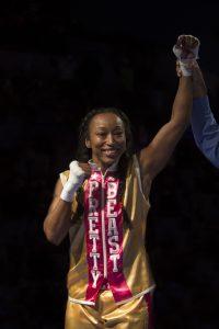 Victory by way of TKO! – Photo: Malaika H Kambon