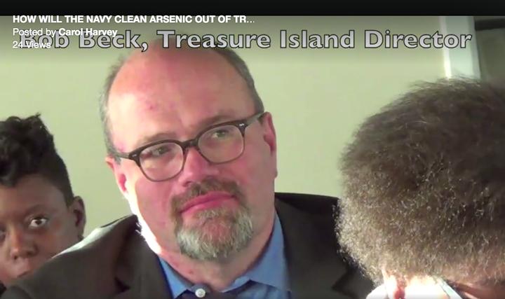 Treasure Island Development Authority Director Robert Beck