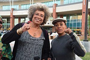 Angela Davis stands with Jasmine Abdullah Richards. So must we all.