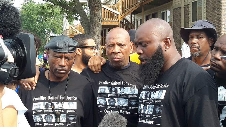 Cephus-Johnson-Brother-Shahid-Michael-Brown-Sr.-first-anniversary-police-murder-of-Michael-Brown-Jr.-Ferguson-Mo.-080915, Oscar Grant's Uncle Bobby speaks on Alton Sterling, Phil Castile, Obama, Dallas and OPD – now with full transcript, Local News & Views