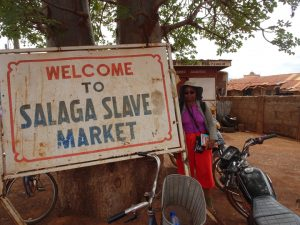 Many traces of the slave trade can be found in Ghana. – Photo: Wanda Sabir