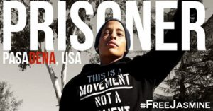 Jasmine Abdullah Richards 'Prisoner Pasadena USA #Free Jasmine graphic