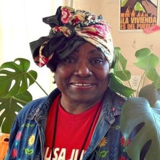 """Paula Beal, who was recently forced out of her home by a sudden 27 percent rent increase and who has seen her seven children, 27 grandchildren and eight great-grandchildren displaced out of Oakland, is the subject of an April 21, 2016, story in the London Guardian called """"Oakland's housing crisis: 'I'm the last one here. I don't know if I can stay or go.'"""""""