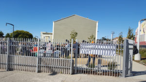 Bayview-Opera-House-grounds-surrounded-by-prison-like-fence-soft-opening-072016-by-Lee-Hubbard-web-300x169, Rebuilt Bayview Opera House opens to community concerns, Local News & Views