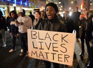 "Protesters in Washington, D.C., last year proclaim, ""Black lives matter""! – Photo: Mladen Antonov, AFP"
