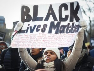 Black lives are in jeopardy every day everywhere, so Black Lives Matter protests take place year round all over the country.