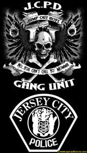 Jersey City Police Jump Out Boys logo