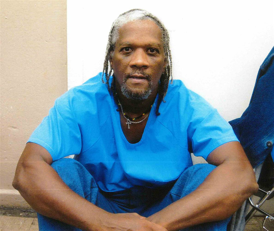 The life of Kevin Cooper, since the death penalty moratorium was lifted last November, is in more imminent danger than at any time since he came within hours of execution in 2004. Be prepared, once again, to join the campaign to save and free him. This photo was taken Oct. 23, 2013.