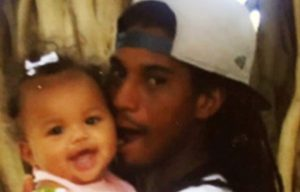 Omar Shakir and his baby