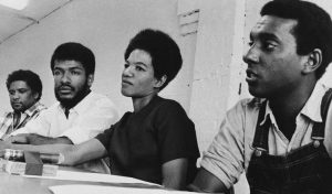 Leaders of SNCC James Forman, Cleveland Sellers, Ruby Doris Smith Robinson and Stokely Carmichael in 1966 – Photo: Horace Cort, AP