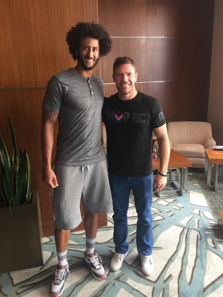 Colin-Kaepernick-former-Green-Beret-Nate-Boyer-in-Boyers-tweet-090116, Dear readers, let's reach out to Colin Kaepernick about supporting the SF Bay View newspaper, Local News & Views