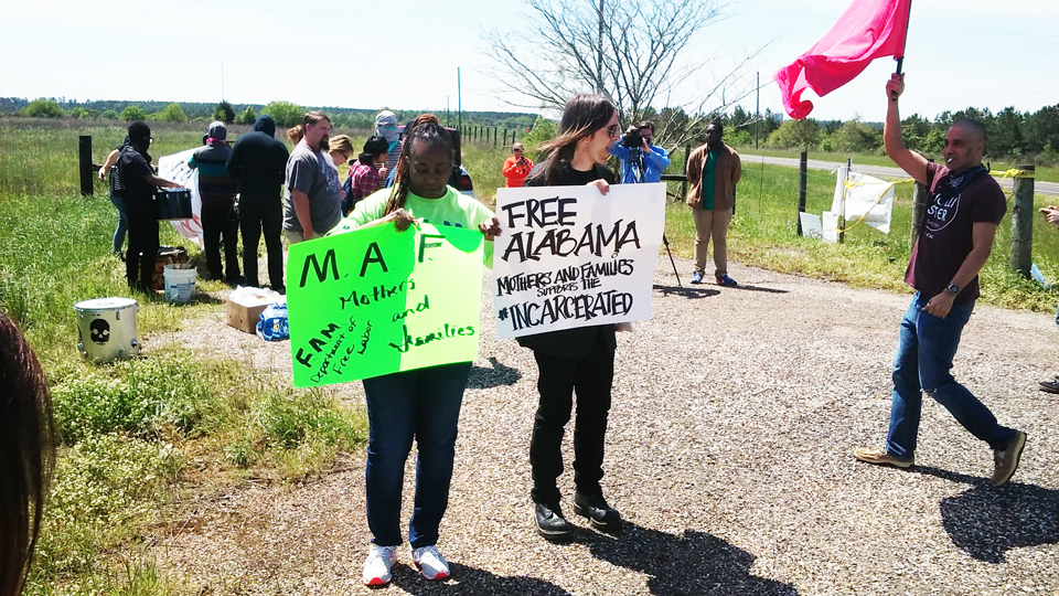 Holman-Prison-protest-called-by-FAM-Free-Alabama-Mothers-Families-040916-web-1, Is the serious humanitarian crisis developing at Holman Prison an ADOC ploy to build more prisons?, Behind Enemy Lines