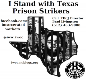 I-stand-with-Texas-prison-strikers-IWOC-2016-300x276, Your tax dollars make America a nation of 8 million slaves, Behind Enemy Lines