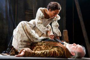 "LisaGay Hamilton in Naomi Wallace's play, ""The Liquid Plain,"" about the Atlantic slave trade."