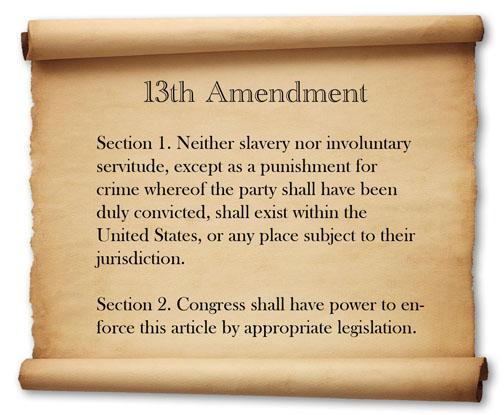 13th-amendment-on-parchment