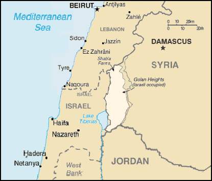 golan-heights-map