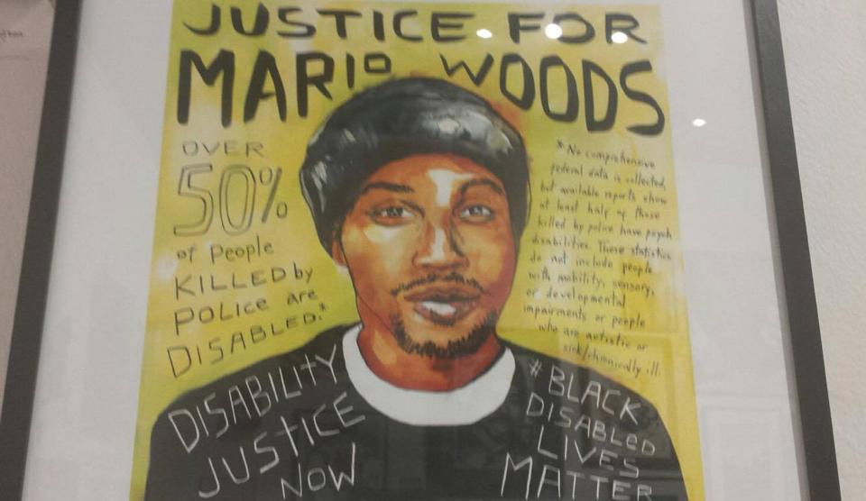 Justice-for-Mario-Woods-Black-Disabled-Lives-Matter-poster-photo, Activists to San Francisco DA: Prosecute, Gascón!, Local News & Views