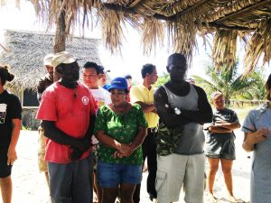 Barra-Vieja-Garifuna-Honduras-community-leaders-speak-to-delegation-1209-1916-by-Root-Causes-Delegation-300x225, Honduras: Government-supported tourism pushes Garifuna maroons off their land of 200 years, World News & Views