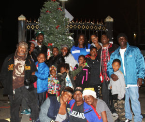 Double-Rock-tree-lighting-community-at-tree-at-main-gate-112616-by-Price-Dean-web-300x253, Second annual Christmas tree lighting brings joy and love to Double Rock – activities continue through the year, Local News & Views