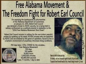 Free-Alabama-Movement-The-Freedom-Fight-for-Robert-Earl-Council-graphic-300x223, Free Alabama Movement: Kinetik Justice under attack; protect him now!, Behind Enemy Lines