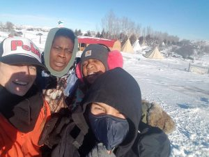 POOR-in-Standing-Rock-Tiny-Aunti-Frances-Aselah-Tibu-122916-by-PNN-300x225, We are all connected, from Standing Rock to Oakland, National News & Views