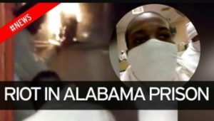 Riot-in-Alabama-Prison-graphic-300x170, Free Alabama Movement: Kinetik Justice under attack; protect him now!, Behind Enemy Lines
