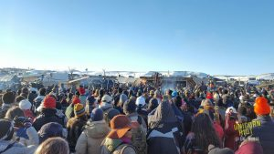 Standing-Rock-Oceti-Sakowin-Camp-hears-Army-Corps-denies-DAPL-easement-120916-by-Unicorn-Riot-300x169, Temporary victory at Standing Rock, National News & Views