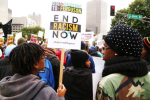 From-Palestine-to-Ferguson-end-racism-now'-thousands-march-Ferguson-October-St.-Louis-1014-by-Christopher-Hazou-300x200, 'Deep Denial: The Persistence of White Supremacy in United States History and Life' by David Billings, Culture Currents