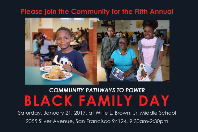 Black-Family-Day-2017, Black Family Day is Jan. 21 at Willie Brown Middle School, Culture Currents