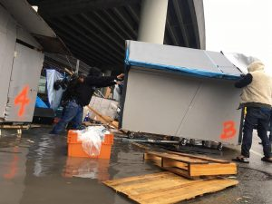 Box-City-residents-save-homes-from-SF-bulldozers-in-pouring-rain-011017-by-COH-300x225, Heartless San Francisco demolishes 'Box City' encampment in pouring rain, Local News & Views