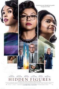 Hidden-Figures-poster-202x300, Review of the new blockbuster 'Hidden Figures', Culture Currents
