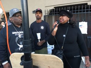 Mario-Woods-murder-1st-anniversary-Phelicia-Jones-speaks-120216-by-Meaghan-Mitchell-300x225, Candlelight vigil marks year since Mario Woods was killed by police, Local News & Views