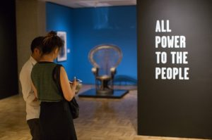 All-Power-to-the-People-Black-Panthers-at-50-exhibit-peacock-chair-Oakland-Museum-1016-0217-300x199, Wanda's Picks for February 2017, Culture Currents