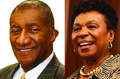 Fred-Jordan-Barbara-Lee-composite, DOT approves separate goals for women and African American businesses, Local News & Views