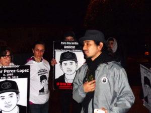 Frisco-5's-Equipto-fired-up-crowd-Amilcar-vigil-020817-by-Adilifu-Fundi-web-300x225, Slain man Amilcar's vigil goes straight to SF DA George Gascón's home, Local News & Views