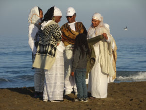 Maafa-sisters-with-child-gathered-at-the-water-100916-by-Wanda-web-300x225, Wanda's Picks for February 2017, Culture Currents