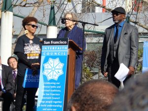 Martin-Luther-King-Day-Interfaith-Council-speakers-011617-by-Adilifu-Fundi-01-300x225, Baron Davis and SF King Day address next four chilling years, but ex-NBA star misses room's 'huge elephant', Local News & Views