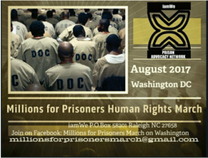 Millions-for-Prisoners-Human-Rights-March-poster-300x228, Announcing Millions for Prisoners March for Human Rights, Behind Enemy Lines