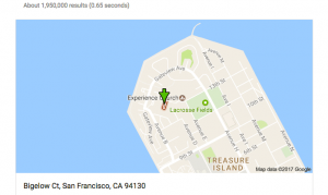 Treasure-Island-Google-map-green-arrow-marks-toxic-Bigelow-Ct-among-occupied-townhouses-300x179, I am Felita Sample, a Black female whistleblower. LaKrista Jackson is my daughter., Local News & Views